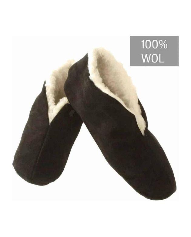 100% wol zwart