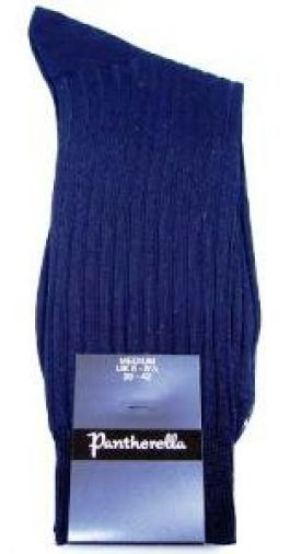 Pantherella herensokken van katoen in donkerblauw