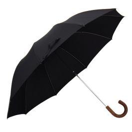 Paraplu Fox Umbrella telescoop met esdoorn handvat